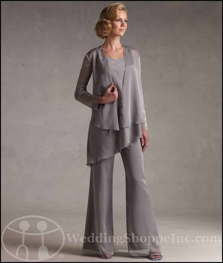 Find glamorous, feminine mother of the bride pant suits at Wedding Shoppe Inc | My Wedding Chat