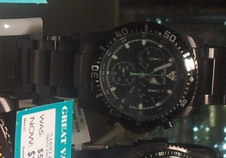 David, Swiss Eagle Watch, Angus & Coote, $399.00