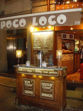 Poco Loco burgers and sandwiches Chamonix, France