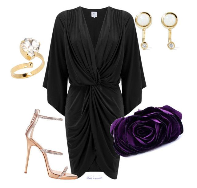 """dress2226"" by k-meszaros on Polyvore featuring Pamela Love, Otazu, MISA Los Angeles, Giuseppe Zanotti and WithChic"