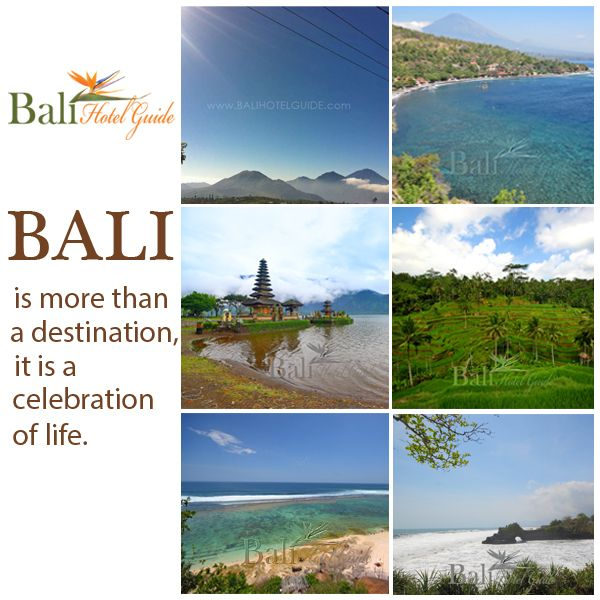 Bali is more than a destination, it is a celebration of life. And though it is a small island, Bali is grand in every way. The celebration that is Bali invigorates the senses and takes shape in every moment of your visit to a romantic Bali hotel.  Click on the link to reserve your room now! http://www.balihotelguide.com/WheretoStay.aspx  #balihotelguide #balitransport #balipackages #baliinfo #baliaccommodation #balitipsandadvice #balihotel #balivilla #baliresort