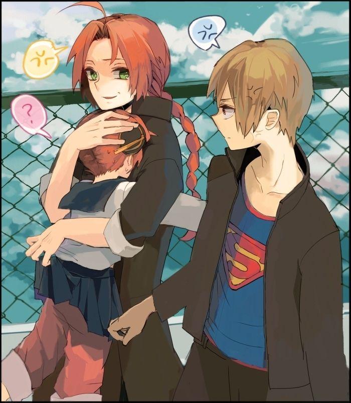 Kagura And Kamui And Okita - Top Images
