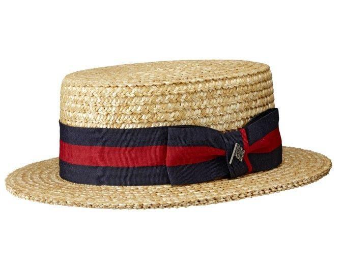 Canotier rétro chapeau