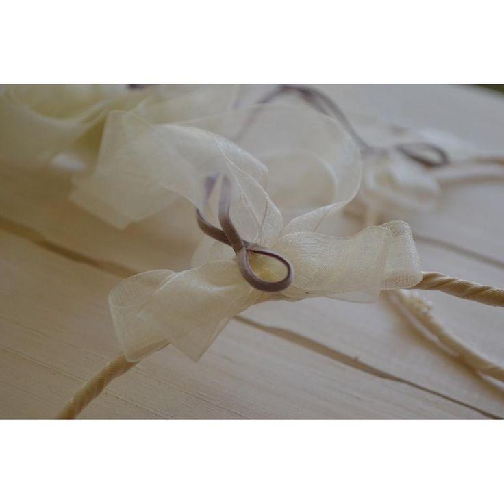 Χειροποίητα στέφανα γάμου από λεμονανθούς και λουλούδια στο χρώμα της λεβάντας - Eleni Mavrogeni