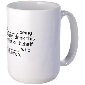Ex-Mormon Coffee Mug, Exmo Mugs