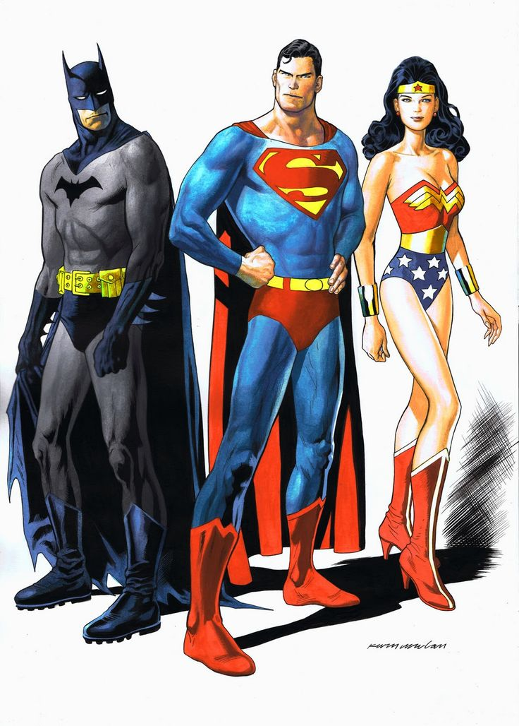 120 best kevin nowlan images on pinterest cartoon art - Superman wonder woman cartoon ...