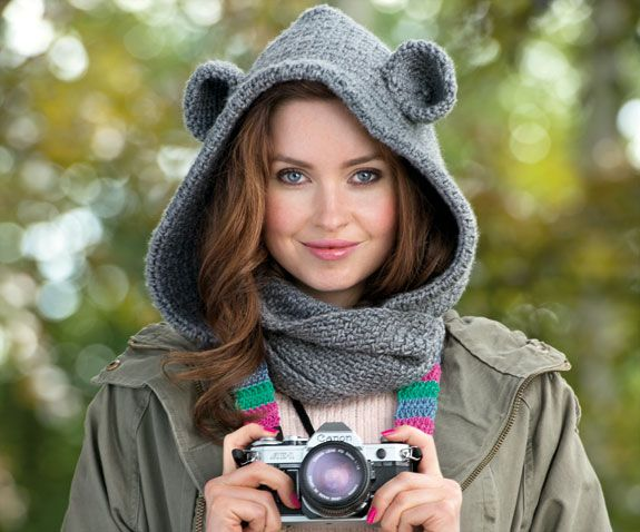 9 Best Bear Cowl Ideas Images On Pinterest Hand Crafts Cowls And