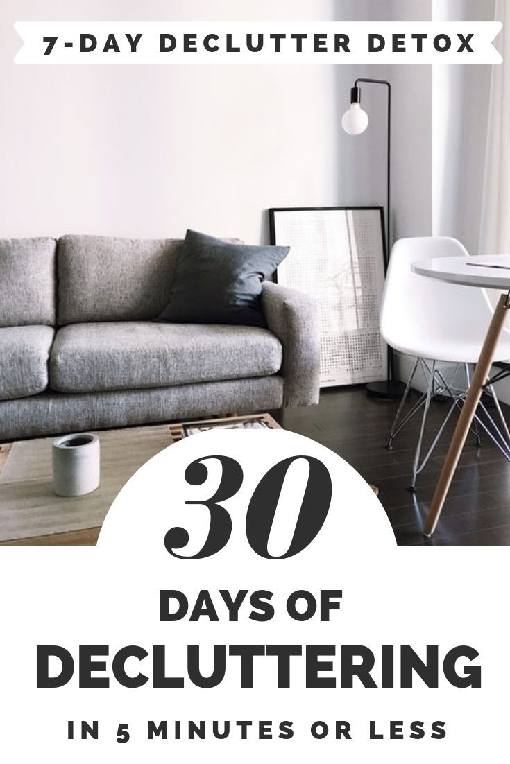 30 Days Of Decluttering In 5 Minutes Or Less For Moms Declutter Home Declutter Fun Activities For Kids