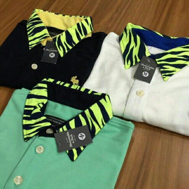 Áo thun cổ bẻ Abercrombie với giá ₫150.000 chỉ có trên Shopee! Mua ngay: http://shopee.vn/boybanhang/4499571 #ShopeeVN