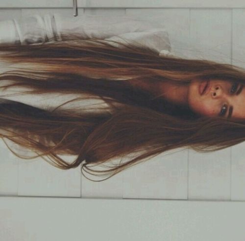 long hair ..