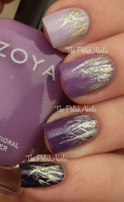Best 25 purple nail designs ideas on pinterest fun nails fun 16 fabulous purple nail designs to try prinsesfo Choice Image