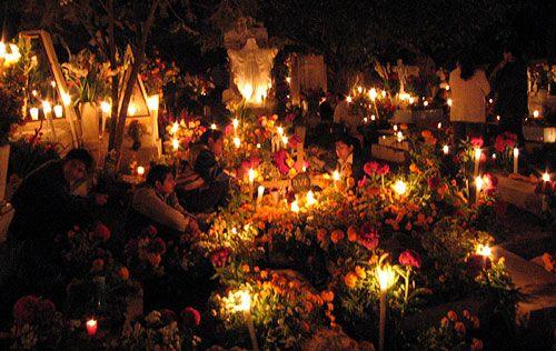 Day of the Dead celebrations on Janitzio Island, Lake Patzcuaro, Mexico