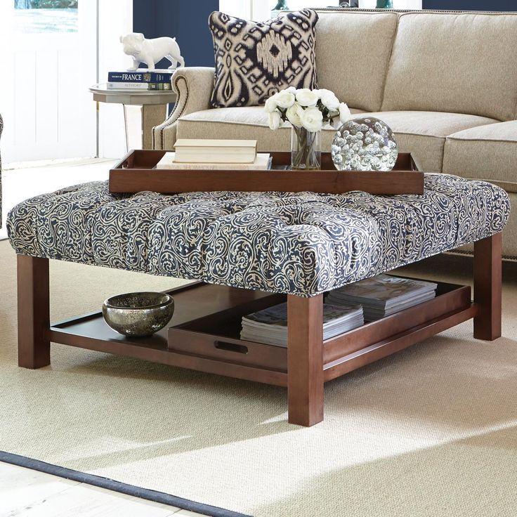 Footstool Coffee Table Tray: Best 25+ Cocktail Ottoman Ideas On Pinterest