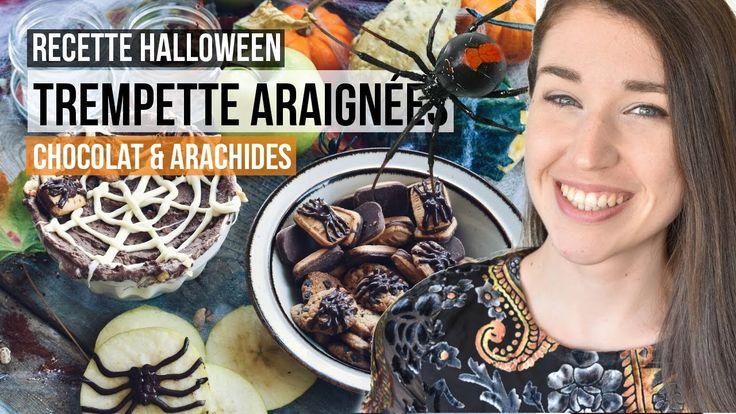 Bouchées d'Halloween - Trempette chocolat et arachides | TUTORIEL RECETT...