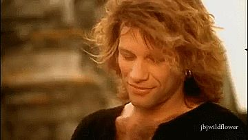Jon Bon Jovi .gif This Ain't A Love Song Video