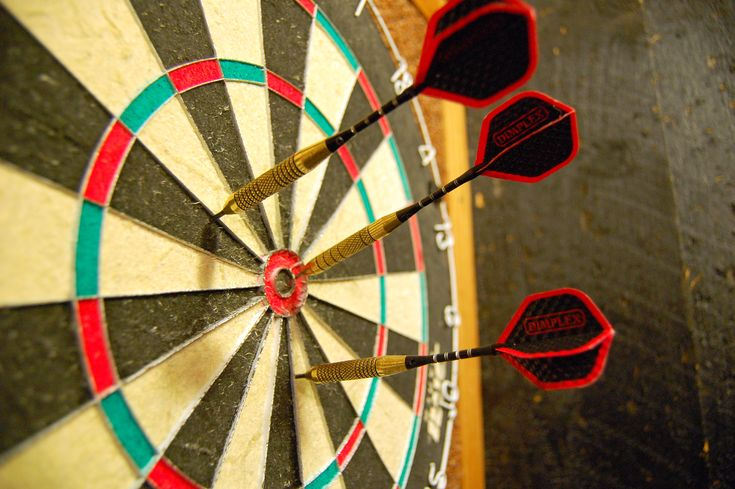 This is a dart. Throwing and hitting a target might be a good idea.