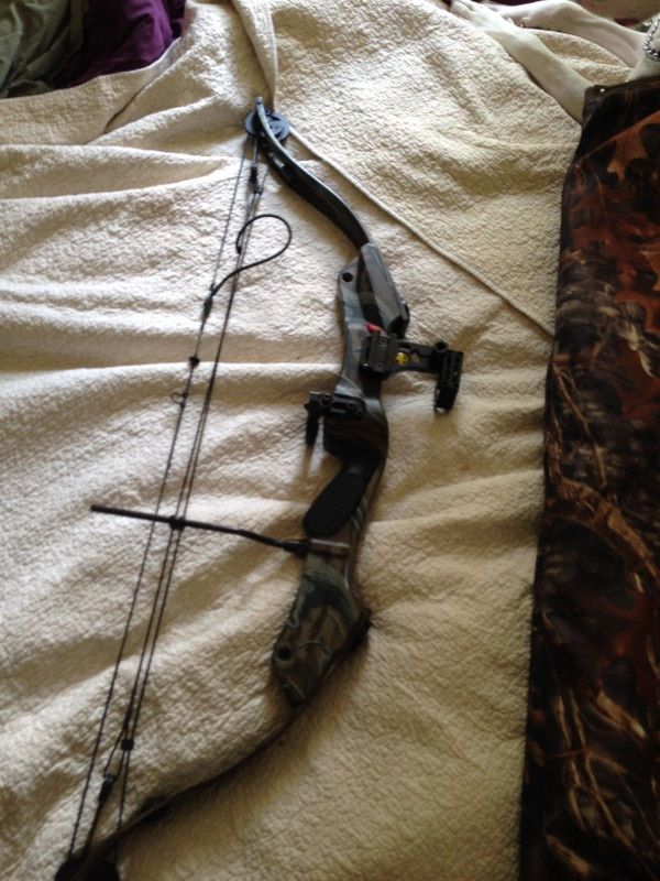 COMPOUND BOW, YOUTH in maryjanehemp's Garage Sale in Lansing , MI for $150. YOUTH BOW, WITH WHISKER BISKIT, PEEP SIGHTS, NEW STRING. CASE. USED BY WOMAN. FRED BEAR BOW
