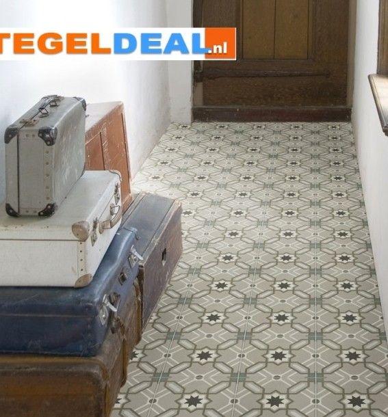 Beste Tegeldeal.nl | Revoir Paris Odie, 20x20 cm, Keramische Portugese DW-64