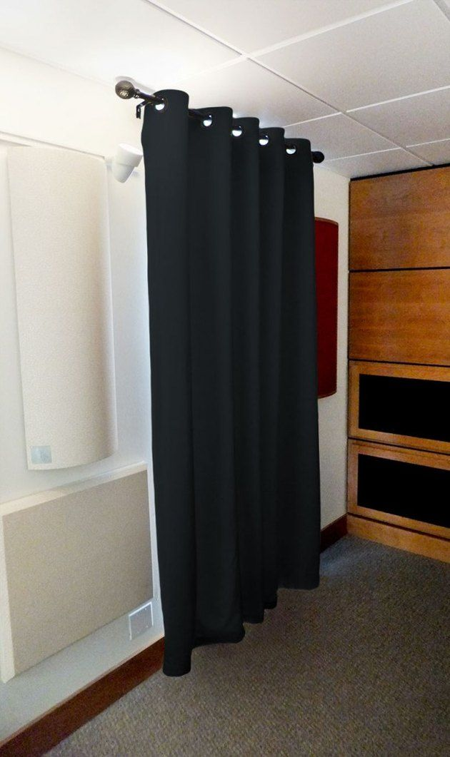 How To Soundproof A Bedroom Hunker Sound Proof Curtains Curtains Living Room Sound Proofing