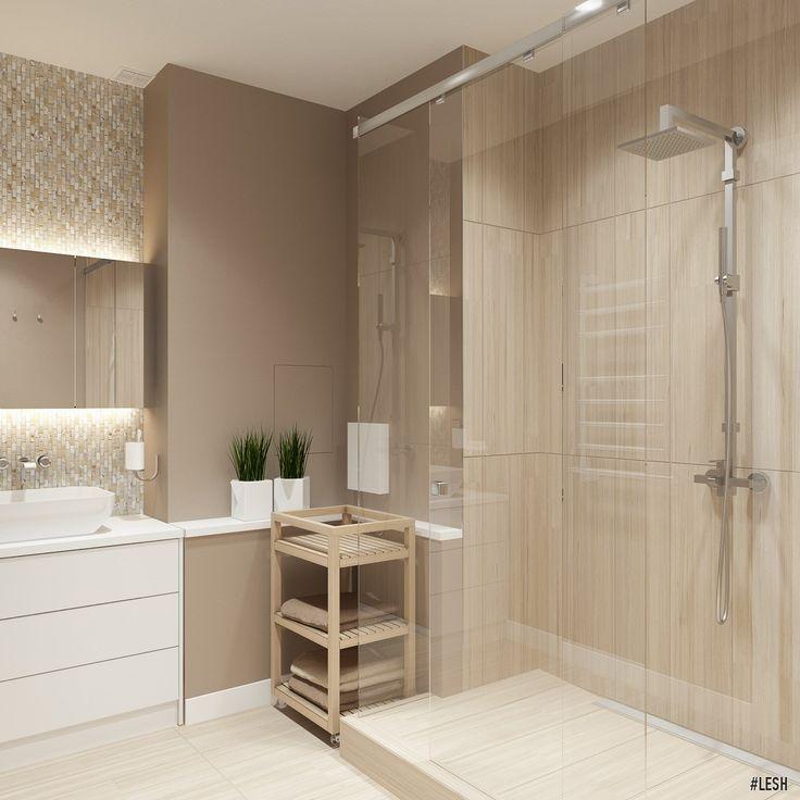Дизайн интерьера двухкомнатной квартиры на пр.Металлистов #дизайн #интерьер #дизайнер #lesh #ванная