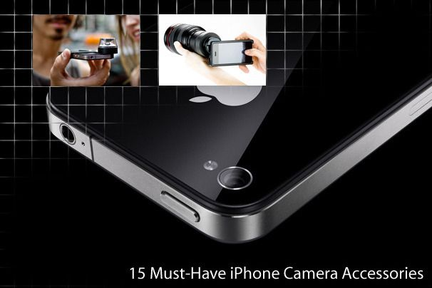 15 Must-Have iPhone Camera Accessories.  These accessories will help you take your iPhone photos to the next level.