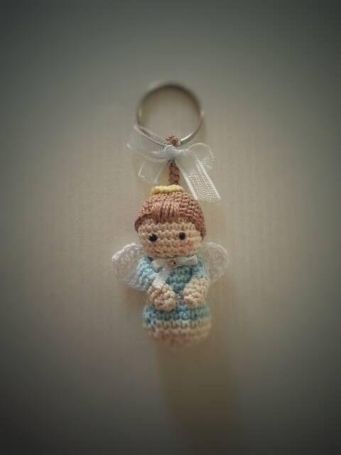 Solo esquemas y diseños de crochet: SOUVENIR ANGELITO!!!!