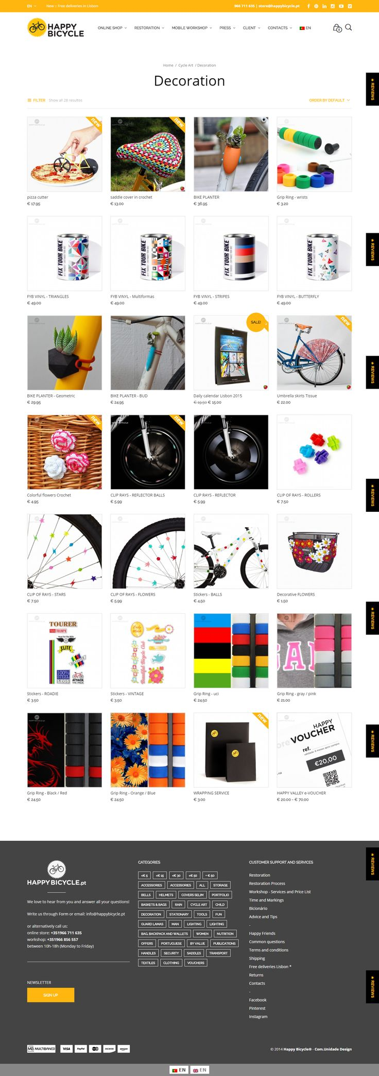 Mr Tailor proudly powers happybicycle.pt, a brand that provides bold and innovative accessories for bikers. #ecommerce http://themeforest.net/item/mr-tailor-responsive-woocommerce-theme/7292110?&utm_source=pinterest.com&utm_medium=social&utm_content=happy-bicycle&utm_campaign=showcase #bicycle #accessories #onlineshop #wordpress