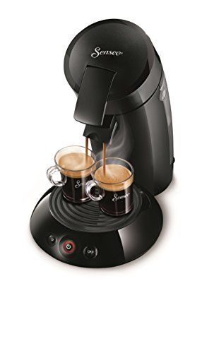 Senseo Philips New and Improved Original Coffee Pod, Coffee Maker Machine 2016, Black ** Check this useful article by going to the link at the image. #CoffeeMakers