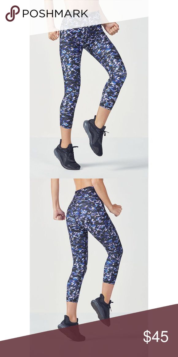 NWT Fabletics Demi Lovato Collection Not quite a legging, not quite a capri, our 7/8 length is the perfect silhouette for those who fall in between. Its high-rise waist with a power mesh lining streamlines your shape while sweat-wicking fabric keeps you fresh along the way. Fabletics Pants Leggings