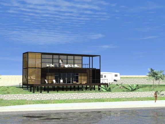 M s de 25 ideas incre bles sobre casa container precio en pinterest casa contenedor precio - Precio casa container ...