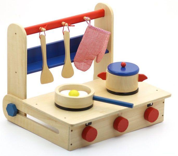 Kids Kitchen | Cocina niños | Cocinita |  Cocinita de madera plegable