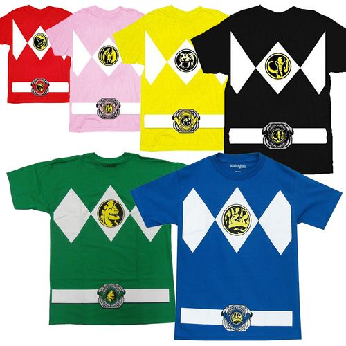 Power Rangers Costume Adult T-Shirt