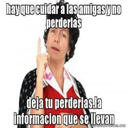 Doña lucha dice | Crear memes con Meme Generator de Doña lucha dice