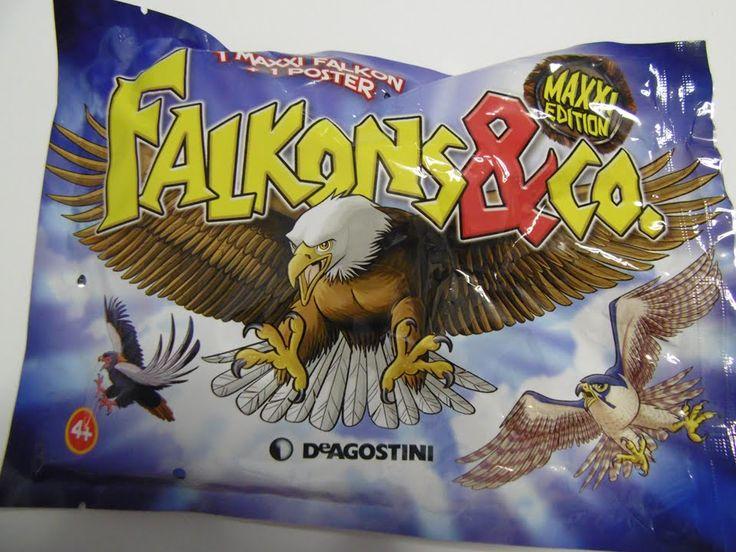Apertura bustina di Falkons & Co. della DeAgostini - Opening Blind Bags