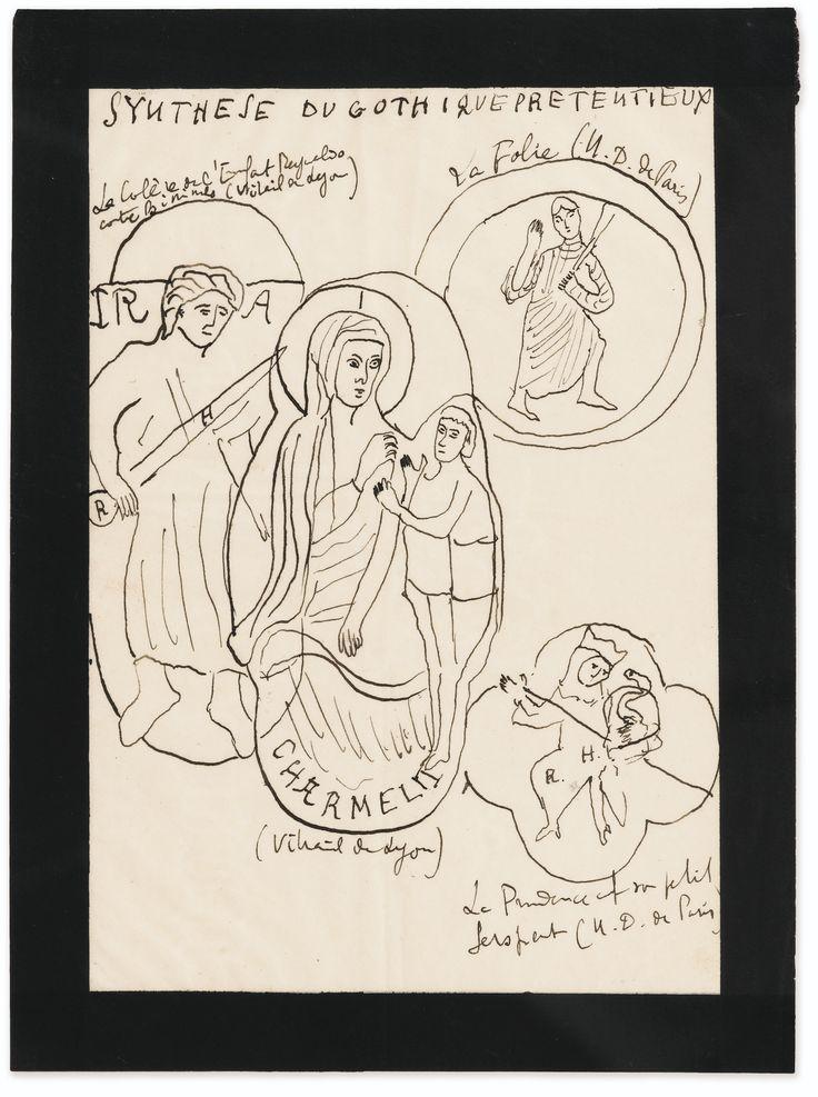 proust, marcel synthèse du gothique prét   art   sotheby's pf1603lot8t7hlen