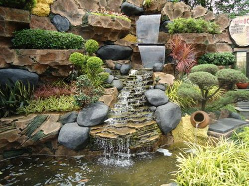 Charming Water Fountain | Stone Water Fountains Outdoor Fountain