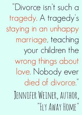 Nobody Ever Died of Divorce
