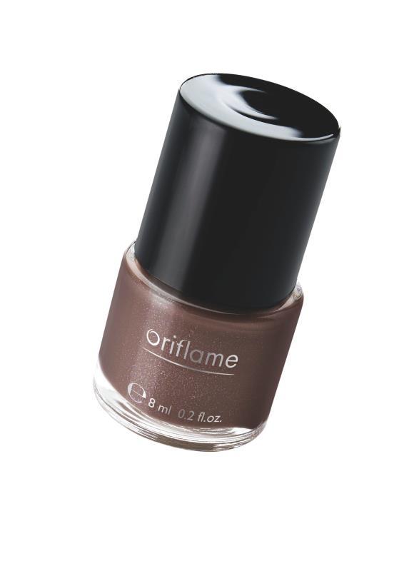 Verniz Oriflame Pure Colour 8 ml, Glossy Taupe