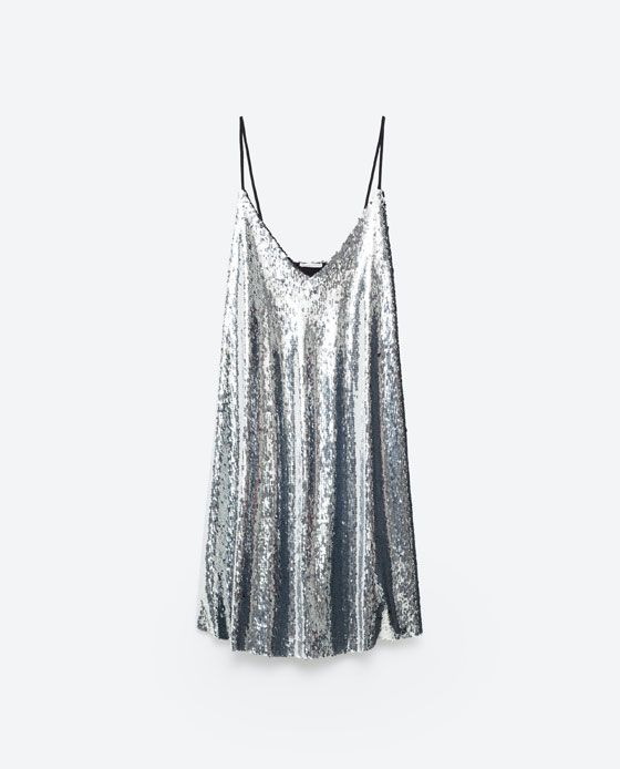 Image 8 of SEQUINNED DRESS from Zara