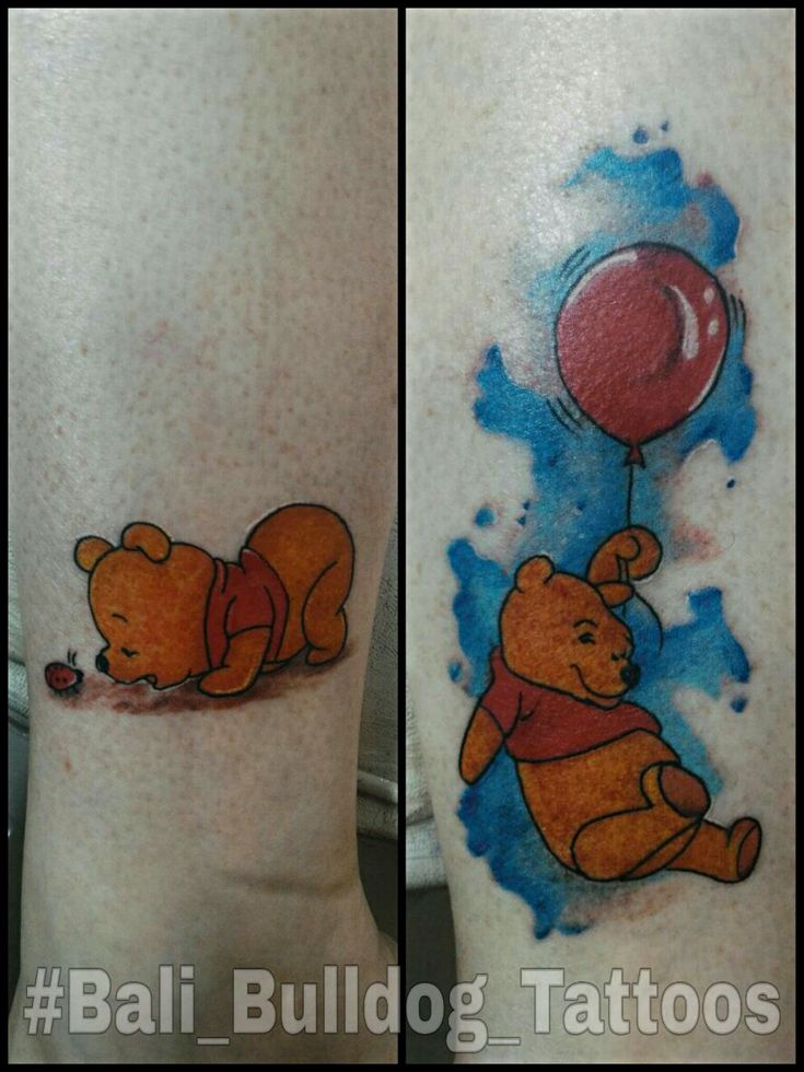 #winnie_the__pooh #Bali_Bulldog_Tattoos #Bali_Tattoo #Bali_Bulldog_Tattoo
