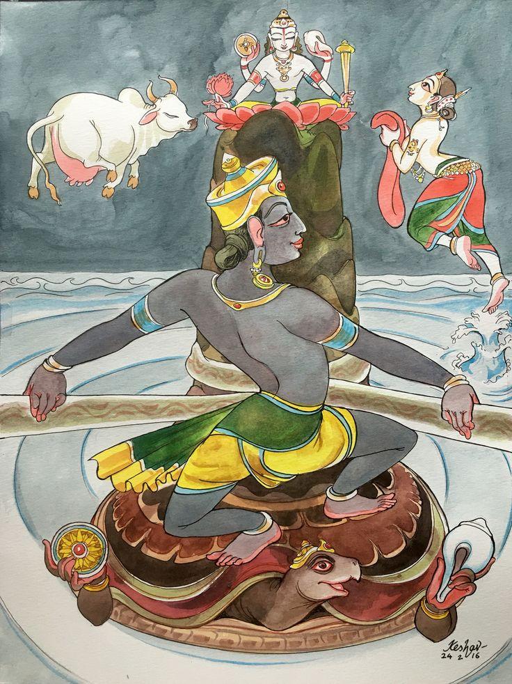 Kurma avatar. #krishnafortoday