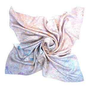 Silk Square Scarf - Mandela Silk Scarves by VIDA VIDA HuKwgR4rK