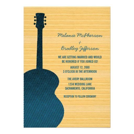 Guitar Wedding Songs: Best 25+ Guitar Wedding Ideas On Pinterest