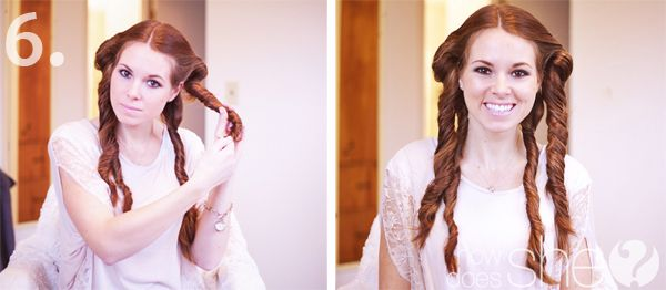 It looks pretty easy! Natural looking beach curls in under 20 minutes!   How Does She...