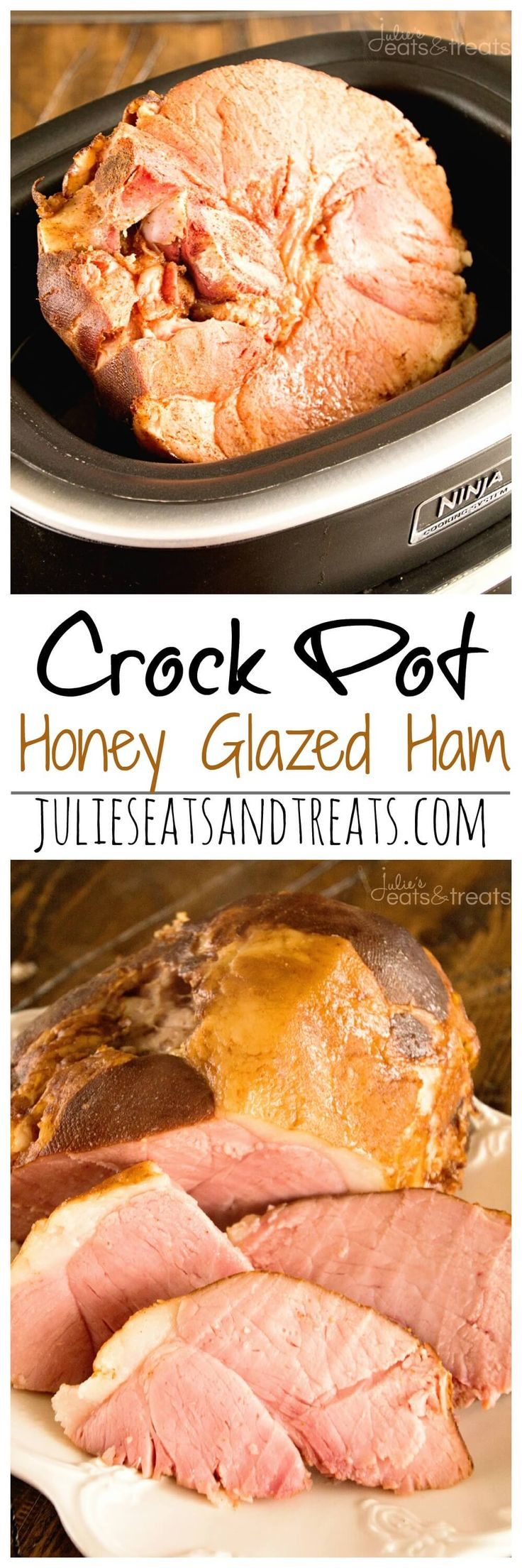 how to cook honey baked ham in crockpot