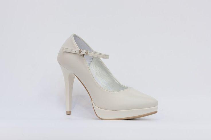 Classic Shoes dámská svatební obuv, celokožená, nejpohodlnější svatební boty, nejkvalitnější model svatební obuvi, společenská obuv, svatební střevíce, svatební bílá a ivory obuv