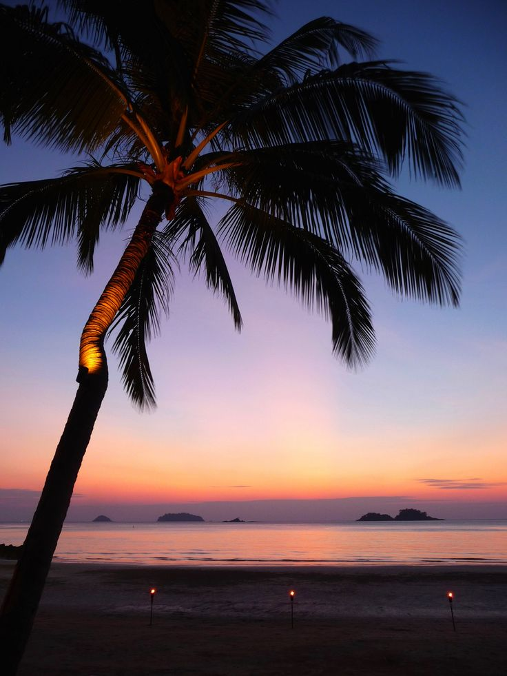 Koh Chang sunset, Thailand