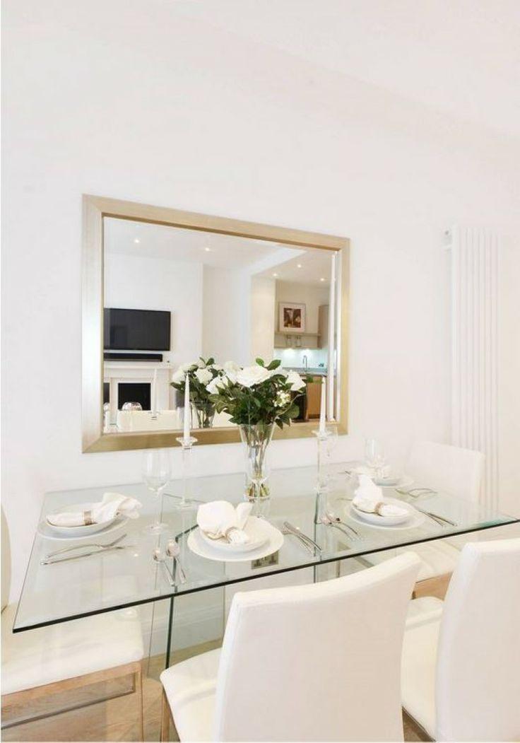Dining Room basement flat W2 #cutlerandbond #basementflat #gardenflat #londonproperty