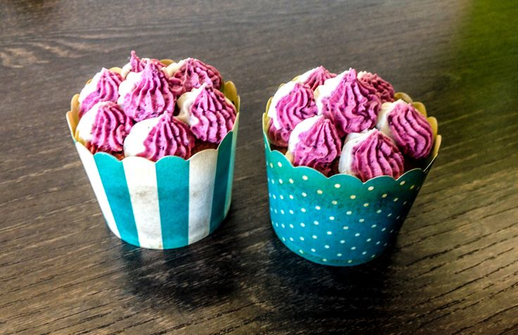 Himbeer-Vanille Cupcakes