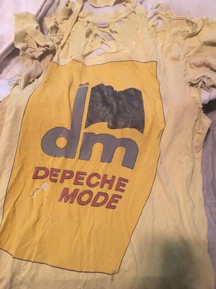 1986 Depeche MODE Vintage Rare Black Celebration Shirt  | eBay
